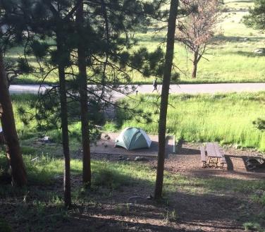 Moraine Park Campground Rocky Mountain National Park